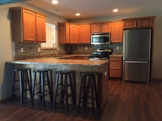 kitchen backsplash installation in cedar rapids Iowa