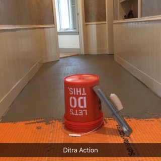Floor preperation before installing tile